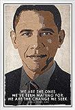 Poster, Motiv President Barack Obama We are The Change We