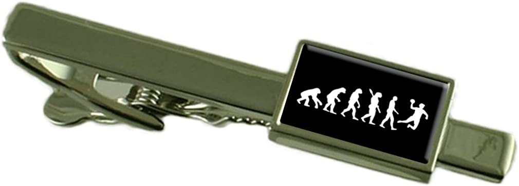 Select Gifts Evolution Ape to Man Handball Tie Clip Pouch