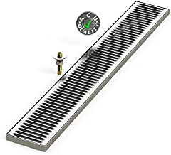 flush mount drip tray no drain