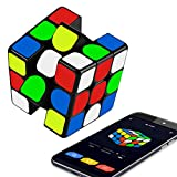 Vdealen Electronic Bluetooth 3x3 Magnetic Speed Cube, App Enabled Smart Puzzle Cube- Real Time Intelligent Tracking Magic Cube Toy