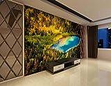 3D Wandillusion Wandbild - Amazonas - Dschungel Oase -