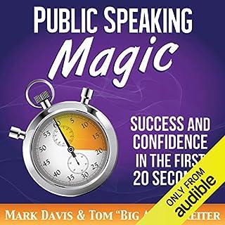 Public Speaking Magic audiobook cover art