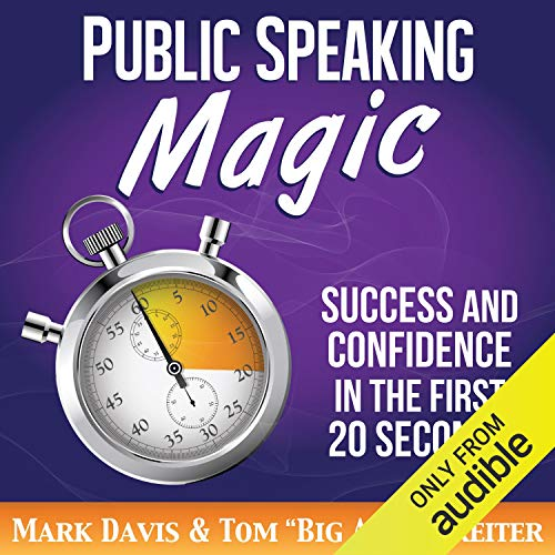Couverture de Public Speaking Magic