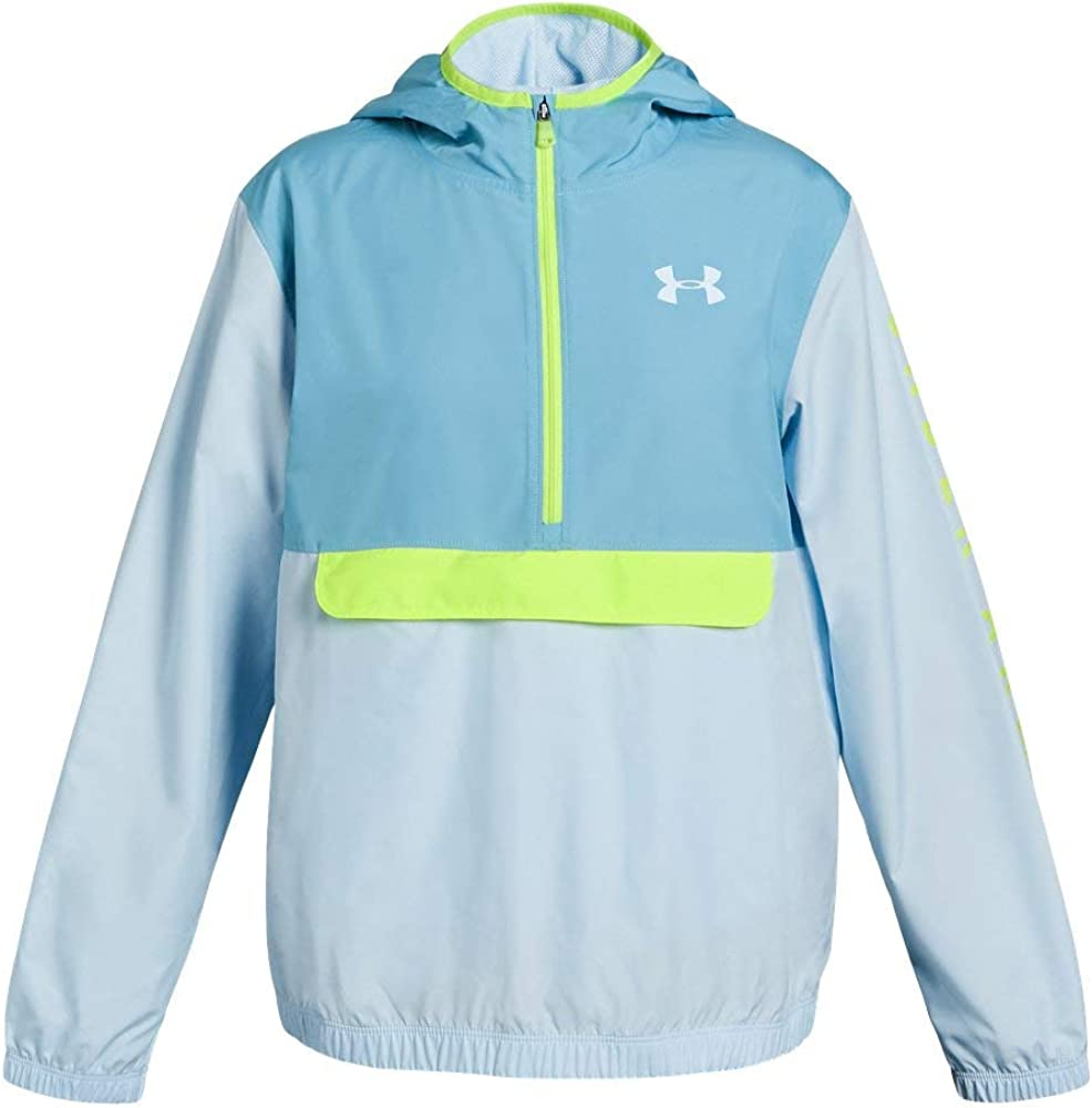 Accesorios Mutuo Disipar  Amazon.com: Under Armour Girls' Packable 1/2 Zip Jacket: Clothing