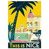 feilongzaitian Provence Nizza Frankreich Pop Art Reise