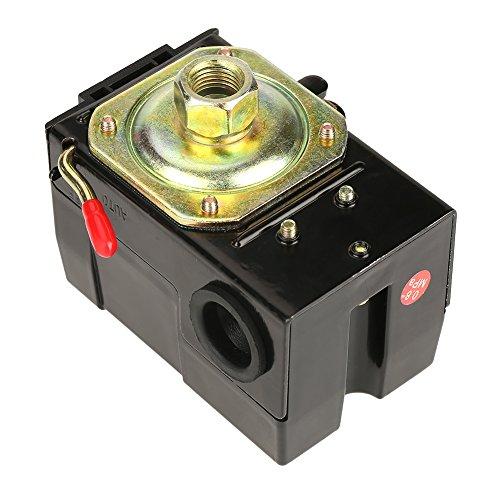 95-125 Psi Pressure Switch Control, 240V Compressor Air Pressure Switch Heavy Duty for 26A Air Compressor Pump Control Valve