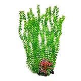RIFNY Aquarium Pflanzen Deko, künstliche Aquariumpflanze, Plastikpflanzen Fuer Aquarium Dekoration...