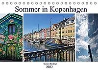 Sommer in Kopenhagen (Tischkalender 2022 DIN A5 quer): Eindruecke aus einer faszinierenden Stadt. (Monatskalender, 14 Seiten )