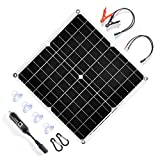 TP-Solar 20 Watt 12 Volt Solar Trickle Charger 20W 12V Solar Panel Car Battery Charger Portable Solar Battery Maintainer +...