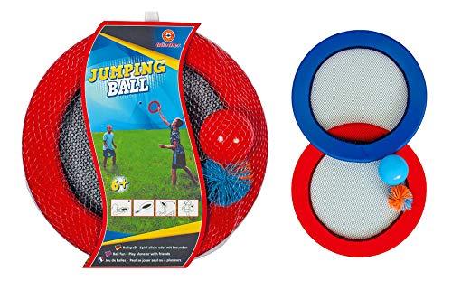Eva Shop® Paul Günther Jumping Ball 1561 Ballspiel, Wurfscheibe, Frisbee Geschicklichkeitsspiel 2in1