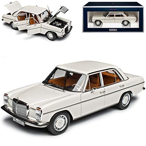 Mercedes-Benz 200 /8 Strich Acht Limousine Weiss W114 W115 Modell 1967-1976 Version Serie 0,5 1967-1969 1/18 Norev Modell Auto