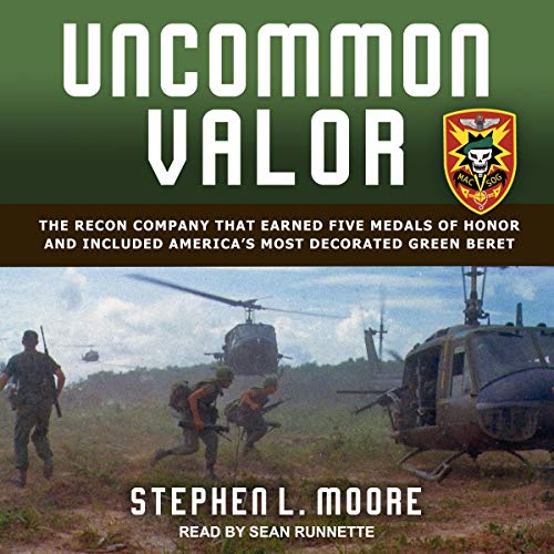 Uncommon Valor audiobook cover art