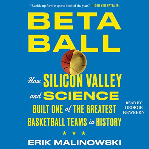 Betaball audiobook cover art