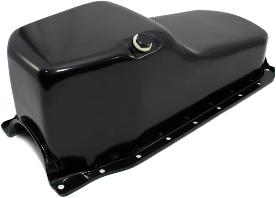 Assault Racing Products A9005 Small Block Chevy Stock Capacity Chrome Oil Pan SBC 327 350 400