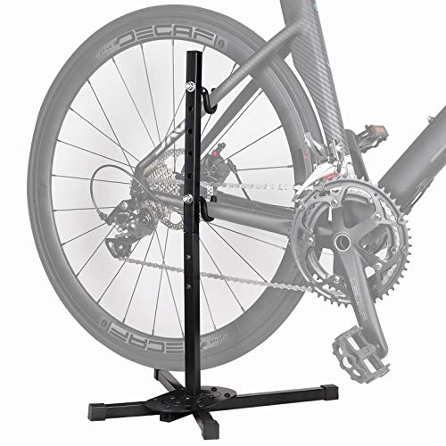 ZPARIK Bike Stand Indoor Storage Bicycle Stand Simple Bike Holder Repair Stands Floor Parking Rack for Maintenance Space Saving Portable Bike Rack for Garage A Good Choice for Home Bikes Storage
