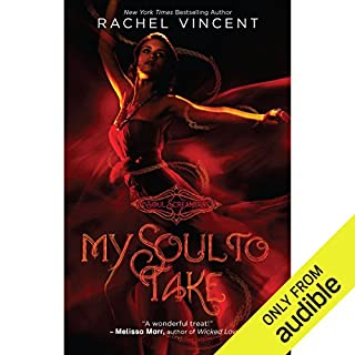 My Soul to Take     Soul Screamers, Book 1              By:                                                                                                                                 Rachel Vincent                               Narrated by:                                                                                                                                 Amanda Ronconi                      Length: 8 hrs and 31 mins     1,306 ratings     Overall 4.1