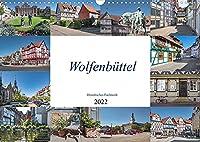 Wolfenbuettel - Historisches Fachwerk (Wandkalender 2022 DIN A3 quer): Die Stadt Wolfenbuettel liegt an der Oker, in Niedersachsen, suedlich von Braunschweig. (Monatskalender, 14 Seiten )