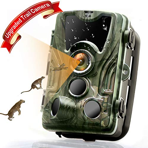 MTFY Trail Game Camera, HD 16MP 1080P Hunting Camera with Night Vision Motion...