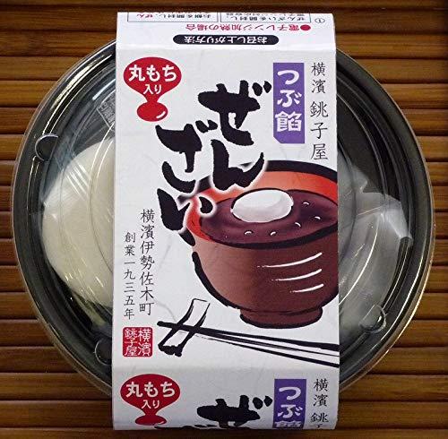 横濱銚子屋丸餅つぶ餡ぜんざい4個セット