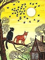 番号でDiyペイントタキシード猫とタビー猫の家を番号で描く新しい宿泊施設大人の大人の結婚式のギフト子供初心者