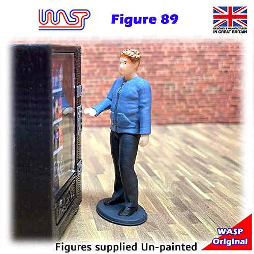 Trackside Figure Scenery Display No 89 New 1:32 Scale WASP