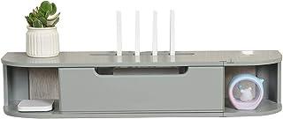 Estante De Caja De Almacenamiento De Almacenamiento De Decodificador Paño De Mano De Enrutador Inalámbrico WiFi Y Caja De ...