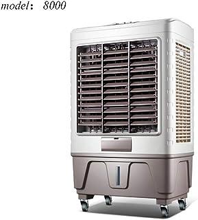 Aire Acondicionado Portátil Aire Acondicionado Móvil Evaporativo Ventilador De La Torre Aire Frío Tanque De Agua Grande Enfriamiento Rapido El Ahorro De Energía (Color : #8000)
