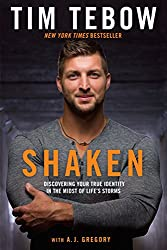 best sports books written by athletes tim tebow shaken