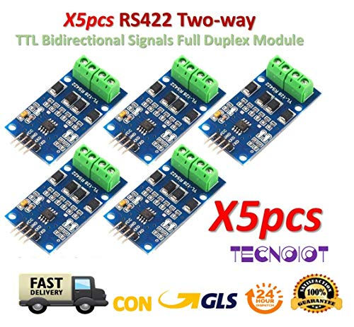 TECNOIOT 5pcs RS422 Two-Way Transfer Between TTL Bidirectional Signals Full Duplex MAX490