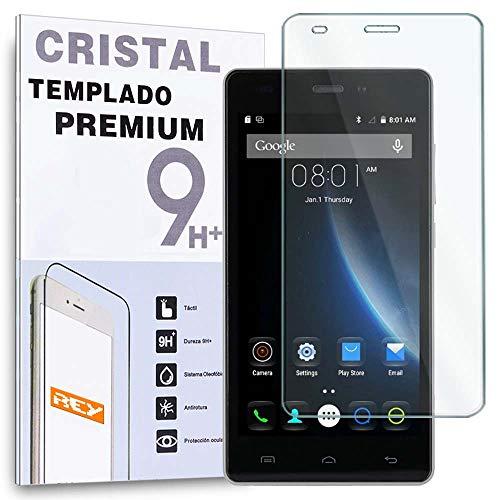 REY Protector de Pantalla para DOOGEE X5 / X5 Pro, Cristal Vidrio Templado Premium