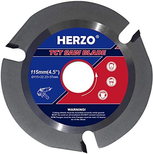 Disco para Cortar Madera HERZO – 115 mm