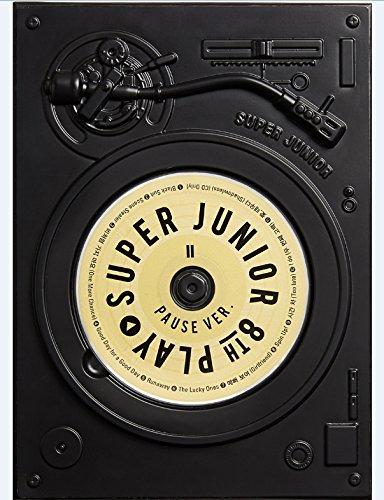 [サイン写真付] Super Junior 8集 'PLAY' PAUSE Ver.[+公式丸筒個人ポスター][+サインPOLAROID写真][+ポストカード][+ステッカー]