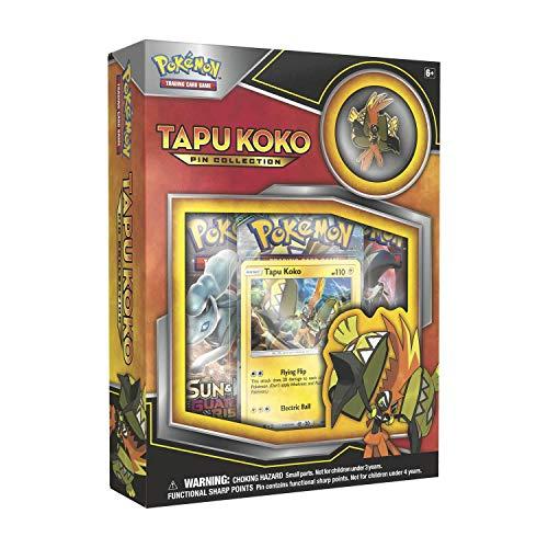 Pokemon TCG Tapu Koko Pin Collection Card Game