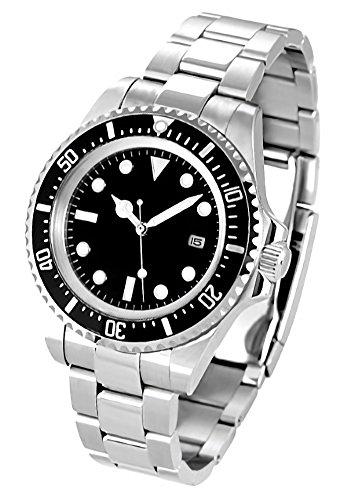 ノーロゴ 腕時計 自動巻き サブマリーナ NL-012SB3AS [並行輸入品]