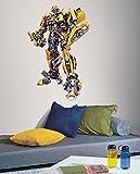 Wandtattoo Transformer, Optimus Prime, Hummel Bumblebee Giant