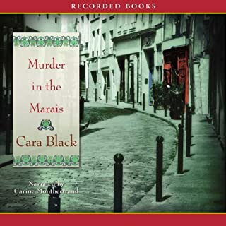 Murder in the Marais audiobook cover art
