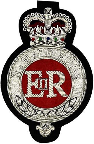 Family Crests HM Prison Service ricamato Blazer badge