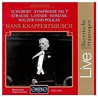 Symphonie No 7 / Walzer Und Polkas by SCHUBERT / STRAUSS / LANNER / KOM (1996-07-01)