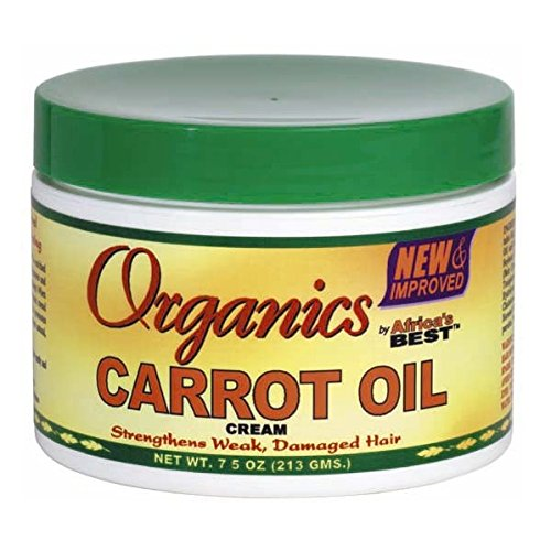 Africas Best Organics Carrot Oil Cream, 7.5oz