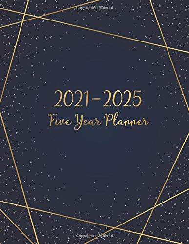 5 Year Monthly Planner 2021 2025: 5 Year Monthly Appointment Calendar with Holiday   2021 2025 Five Year Planner   Schedul...