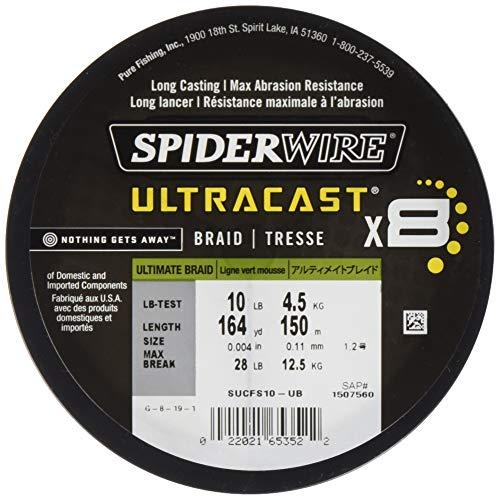 SpiderWire Ultracast Braid - SUCFS80-UB
