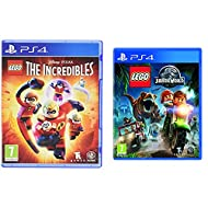 LEGO The Incredibles (PS4) & LEGO Jurassic World (PS4)