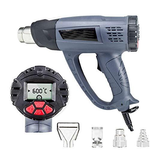 BJH Pistolet Thermique de qualité 220V, Pistolets à air Chaud 2800W, Outil Thermique à Affichage numérique réglable en température
