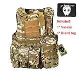 WorldShopping4U Militaire Armée Airsoft Paintball Assault Tactique Chasse FSBE Style Transporteur...