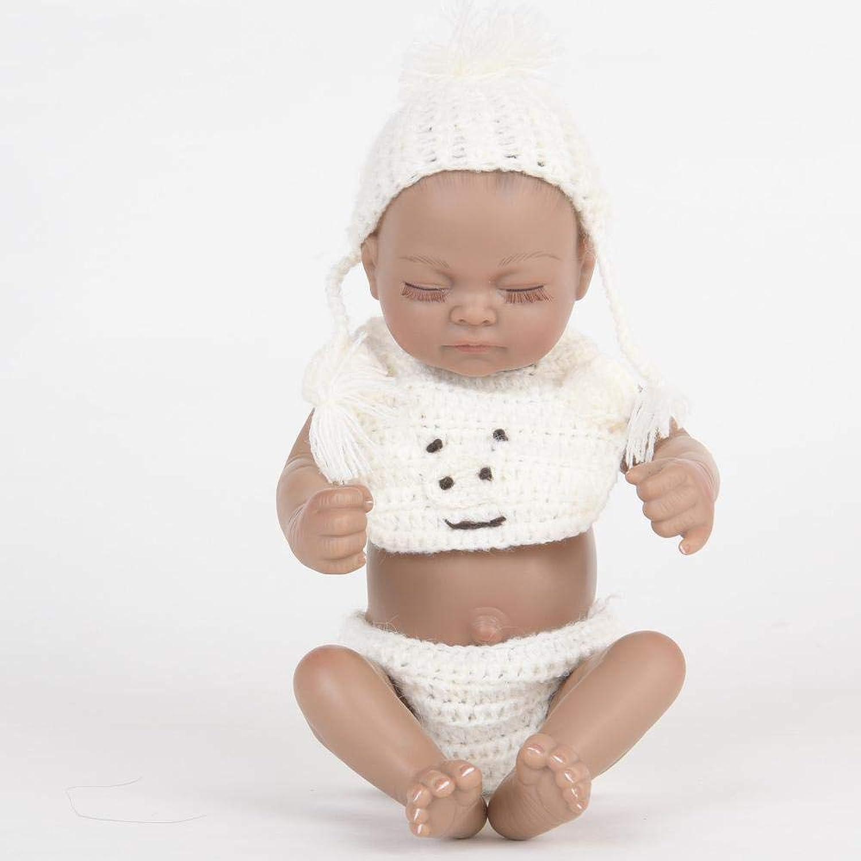 Hongge Reborn dolls Full gel Silicone Reborn doll looks real newborn doll kids toys 28cm