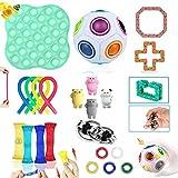 Fidget Toys, Fidget Toys Pack Sensory toys for Soulager le Stress et l'anxiété, Anti Stress Toys pour Enfants, Adultes, Couples...