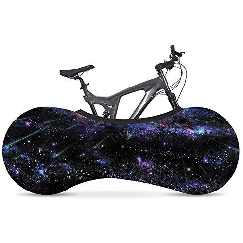 Funda Bicicleta XYBB 26'-28' Cubierta Antipolvo de Bicicleta elástica protección del Medio Ambiente Pintura Tela elástica Que no se decolora Cubierta de Bicicleta de Carretera Interior 20