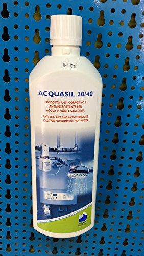 NUOVO AcquaSIL 20/40® Anticorrosivo antincrostante per MiniDOS e BravaDOS - 6 confezioni