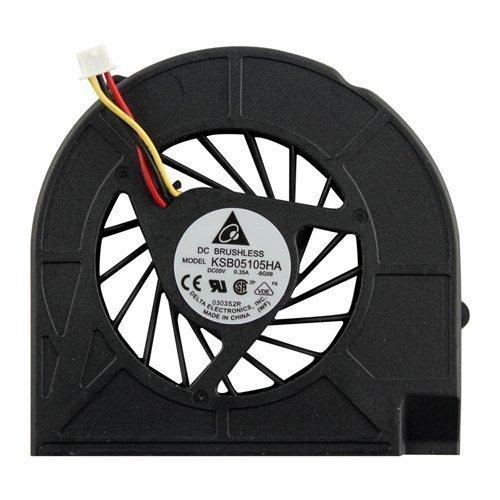 Ventilador de CPU Nuevo ventilador de refrigeración de CPU de repuesto para HP G60-123CL G60-125CA G60-125NR G60-126CA G60-127CL G60-127NR G60-128CA G60-129CA G60-146CA G60-201TU G60-202TU G60-203TU G