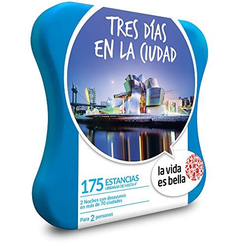 LA VIDA ES BELLA - Caja Regalo - Tres DÍAS EN LA Ciudad - 175 hoteles urbanos de hasta 4*